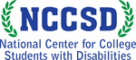 Logo for NCCSD-blue letters NCCSD surrounded by laurel leaves on both sides; beneath this: